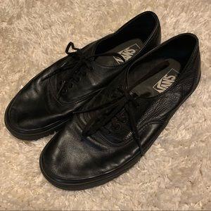 Leather Vans Shoes
